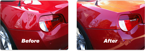 Paintless Dent Removal | Custom Spraypainting Services ...